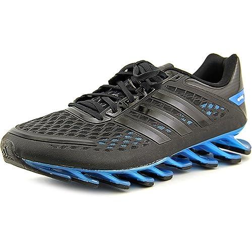 weiße adidas schuhe, Adidas Springblade III Running Schwarz