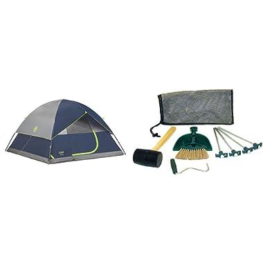 Sundome 6 Person Tent - Navy w/ Tent Kit