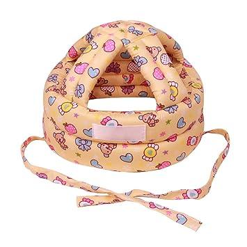 eizur ajustable bebé Infant Toddler Gorro de cabeza protección gota resistencia Kids Crash casco de seguridad