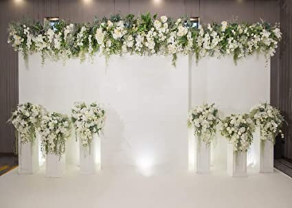 Wedding Backdrop Romantic Flowers Bride Groom Portraits Wedding Reception Decoration Love Engagement Party Background Sweet Anniversary Photos Bridal
