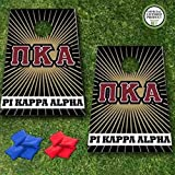 VictoryStore Cornhole Games - Pi Kappa Alpha Cornhole Bag Toss Game - Starburst - 8 Bags Included