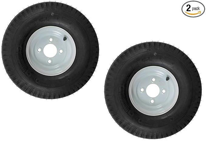 Amazon.com: eCustomRim - Pack de 2 neumáticos de remolque en ...