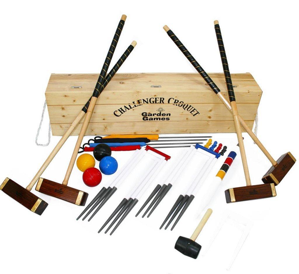 Garden Games Challenger Croquet Set in Box by Garden Games