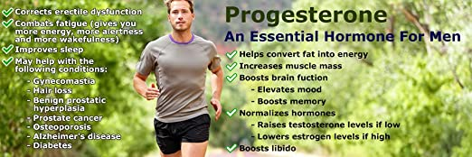 high progesterone levels in males