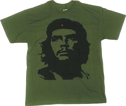 che guevara vintage logo men s t shirt medium olive