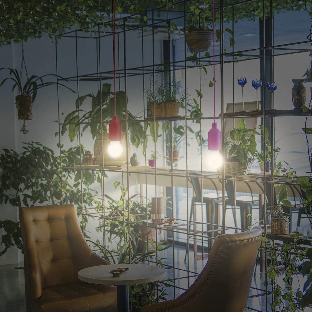 Tienda de campa/ña Camping Warmcasa Luz Portatil LED 4 pcs L/ámparas de Tirar con Luz Blanco C/álido Iluminaci/ón Movible 0.5 w para Interior y Exterior Terraza Garaje Fiestas Barbacoas
