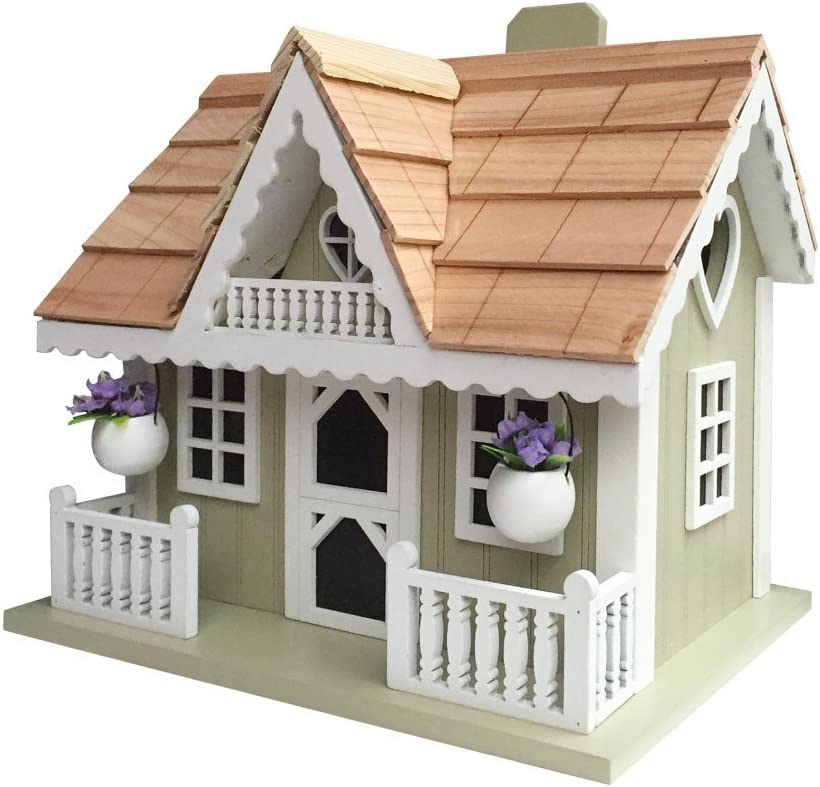 Home Bazaar HB-9521S Rosemary Cottage Birdhouse, Multi