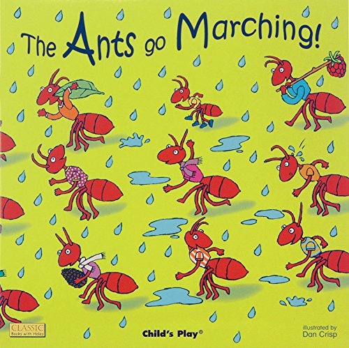 The Ants Go Marching (Classic Books With Holes) (Book The Farm Ant)