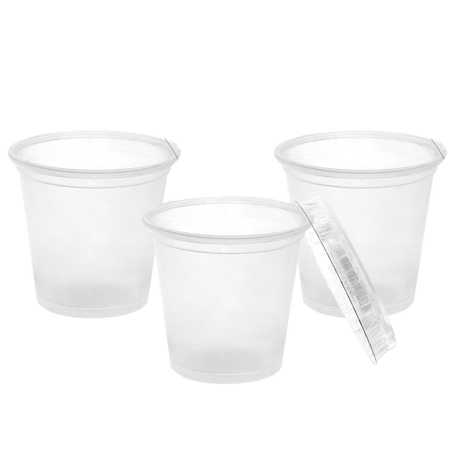Party Essentials N201312 Party Supplies Tableware, 25-Count, Clear by Party Essentials