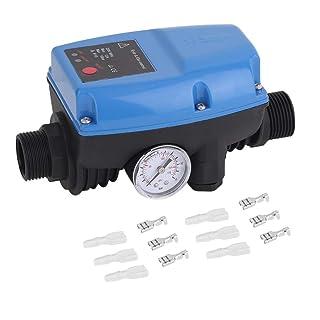 SKD-5 Bomba de agua electrónica Control de presión Interruptor de control de presión automático profesional con manómetro
