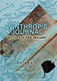 Winthrop's Journal, History of New