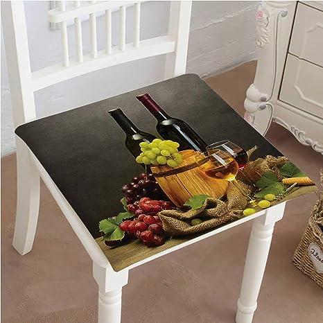 Amazon.com: Mikihome - Cojín de asiento para almacenamiento ...