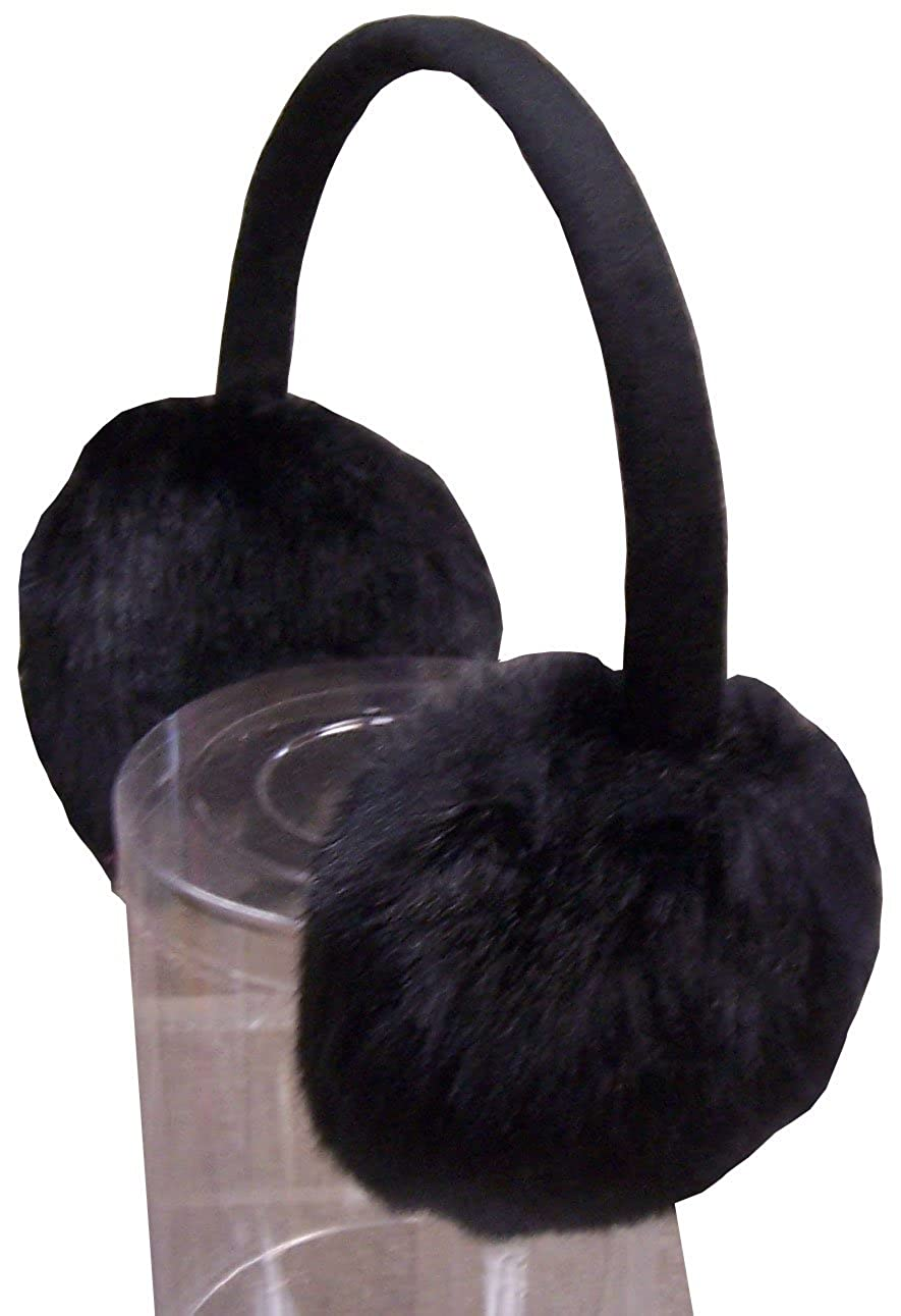 N'Ice Caps Unisex Soft Plush Faux Fur Adjustable Ear Muff for All Ages 650-B