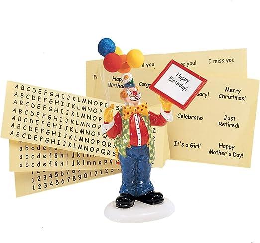 "56 DEPT Retired /""Send In The Clown/"" # 55021"