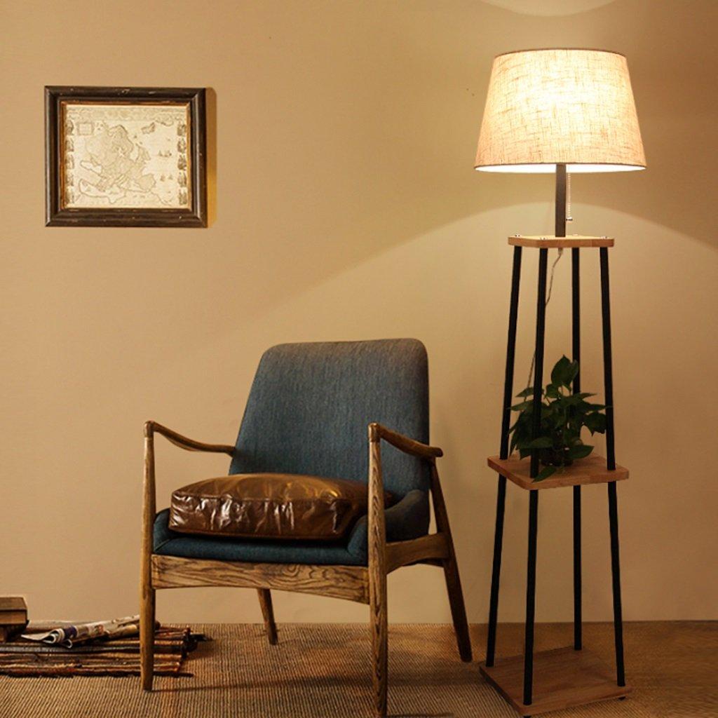 【送料無料キャンペーン?】 TangMengYun ソリッドウッドフロアランプ B078Y583C2、寝室のベッドサイドランプのためのシンプルな標準ランプ居間、棚付きの現代的なデザインのフロアランプ(E27) TangMengYun B078Y583C2, ジェイエイビバレッジ佐賀:326dc6b5 --- a0267596.xsph.ru