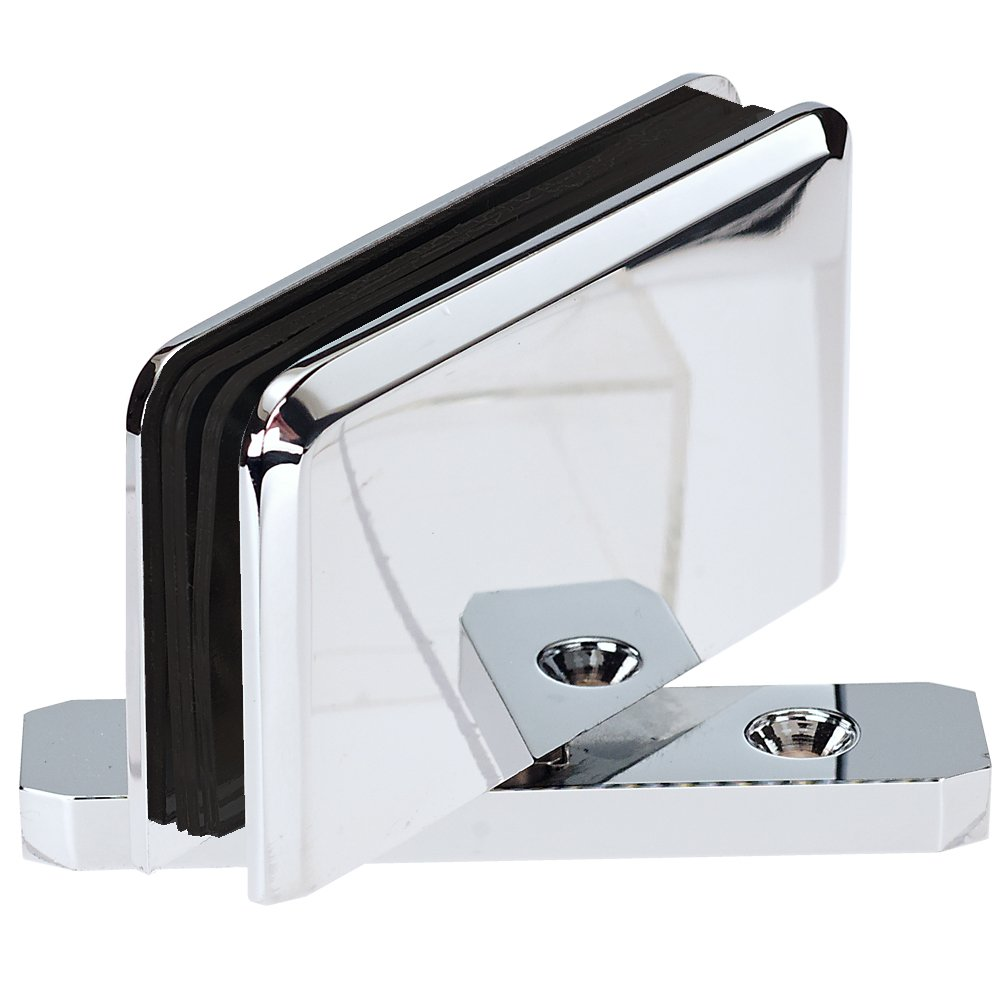 Top and Bottom Pivot Hinge For Frameless Heavy Glass Shower Doors ...