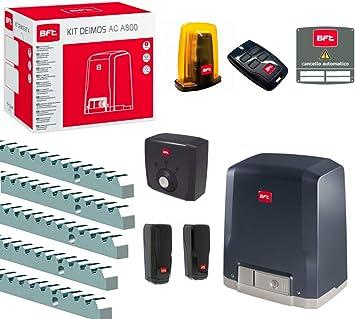 Kit Puerta Corredera r925324 00002 con Motor BFT Deimos y un Compartimento para 800 kg ml056: Amazon.es: Bricolaje y herramientas