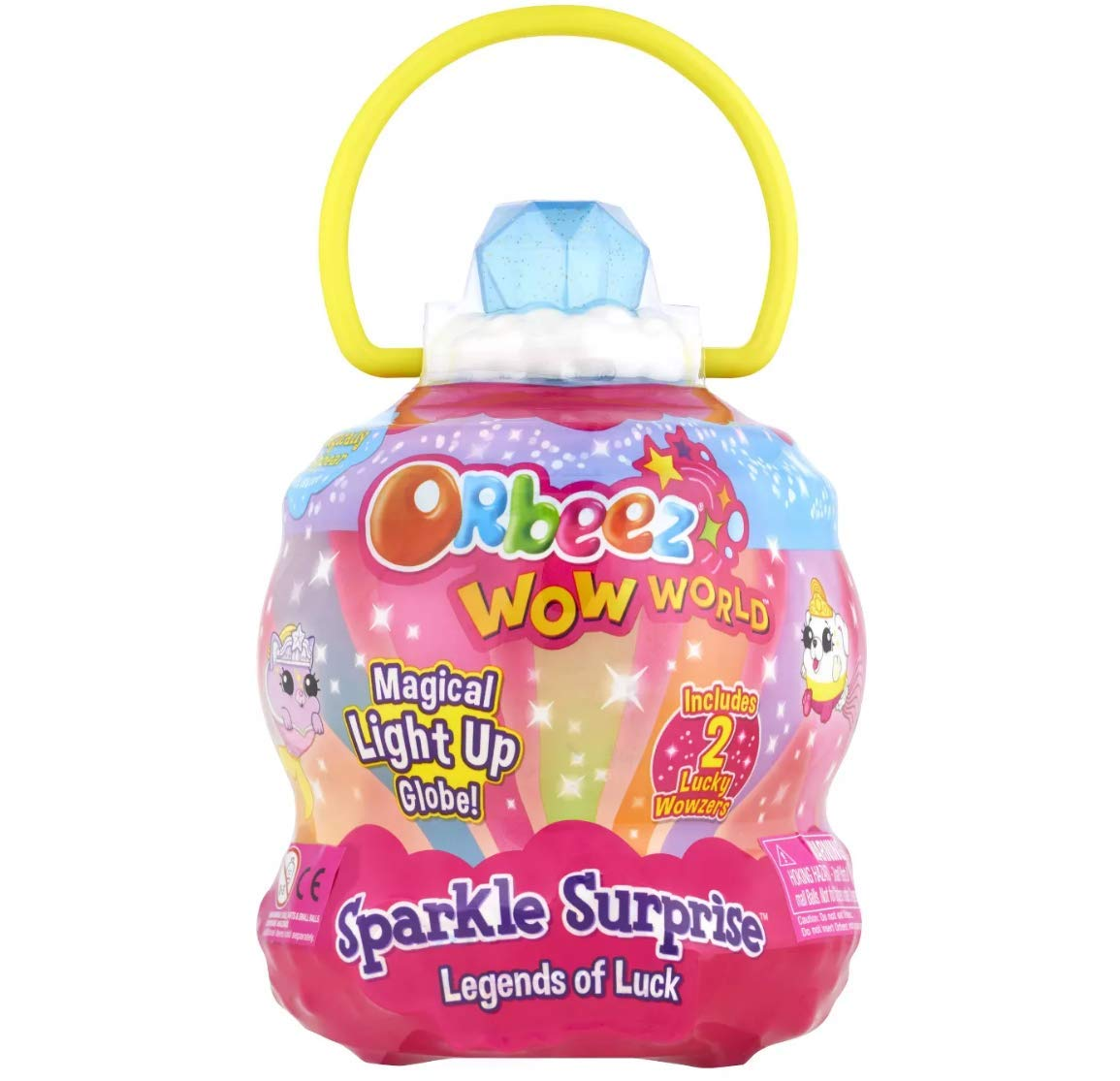 Orbeez Wow World - Magical Light Up Globe! - Sparkle Surprise Legends of Luck! by Orbeez