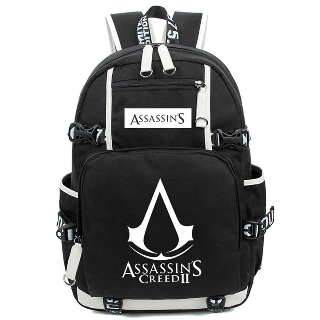 Amazon.com: AUGYUESS Mochila luminosa para la escuela, bolsa ...