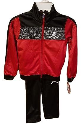 94623642669a Amazon.com  Jordan Nike Air Boys 2 Piece Warm Up Track Running ...