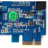 dodocool USB 3.0 拡張カード 2ポート エクスプレス カード 内部 20 ピン 4 ピン IDE VLI チップセット固体コンデンサー
