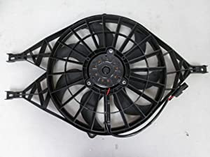 Dual Radiator and Condenser Fan Assembly - Cooling Direct For/Fit CH3115119 Ch3115119 97-04 Dodge Dakota 00-02 Durango