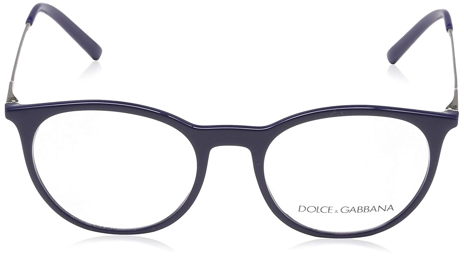 ac471d1a85b6 Amazon.com  Dolce   Gabbana Diagonal Cut DG 5031 Blue 49 18 140 Men Eyewear  Frame  Clothing