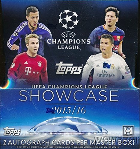 2015-16-topps-uefa-champions-league-showcase-factory-sealed-hobby-box-with-two2-autographs-12-packs-