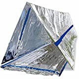 BlizeTec Emergency Bivy Sack Mylar Thermal...