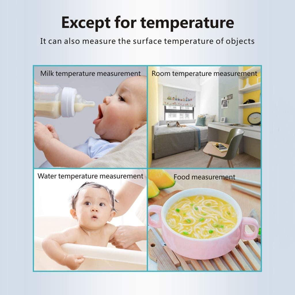 Shop COGIGI LCD Display Non-Contact Infrared Forehead Thermometer for Home Work Offices School
