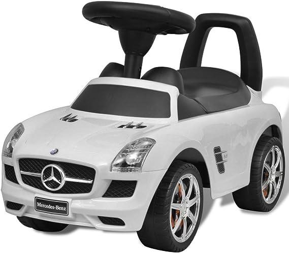 vidaXL Coche Correpasillos de Niños Blanco Automóvil Infantil Juguete Vehículo: Amazon.es: Juguetes y juegos