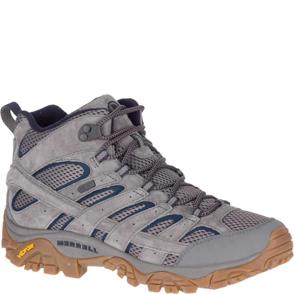 Merrell Men's Moab 2 Mid Waterproof Hiking Boot Charcoal 8