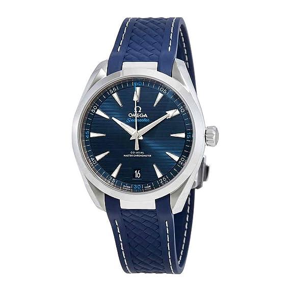 Omega Seamaster Aqua Terra esfera azul 41 mm Hombres del reloj 220.12.41.21.03.001: Amazon.es: Relojes