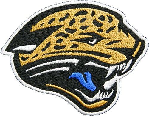 Jacksonville Jaguar 9x7 cm Patch Sew Iron on Logo Embroidered Badge Sign Emblem Costume BY Dreamhigh_skyland]()