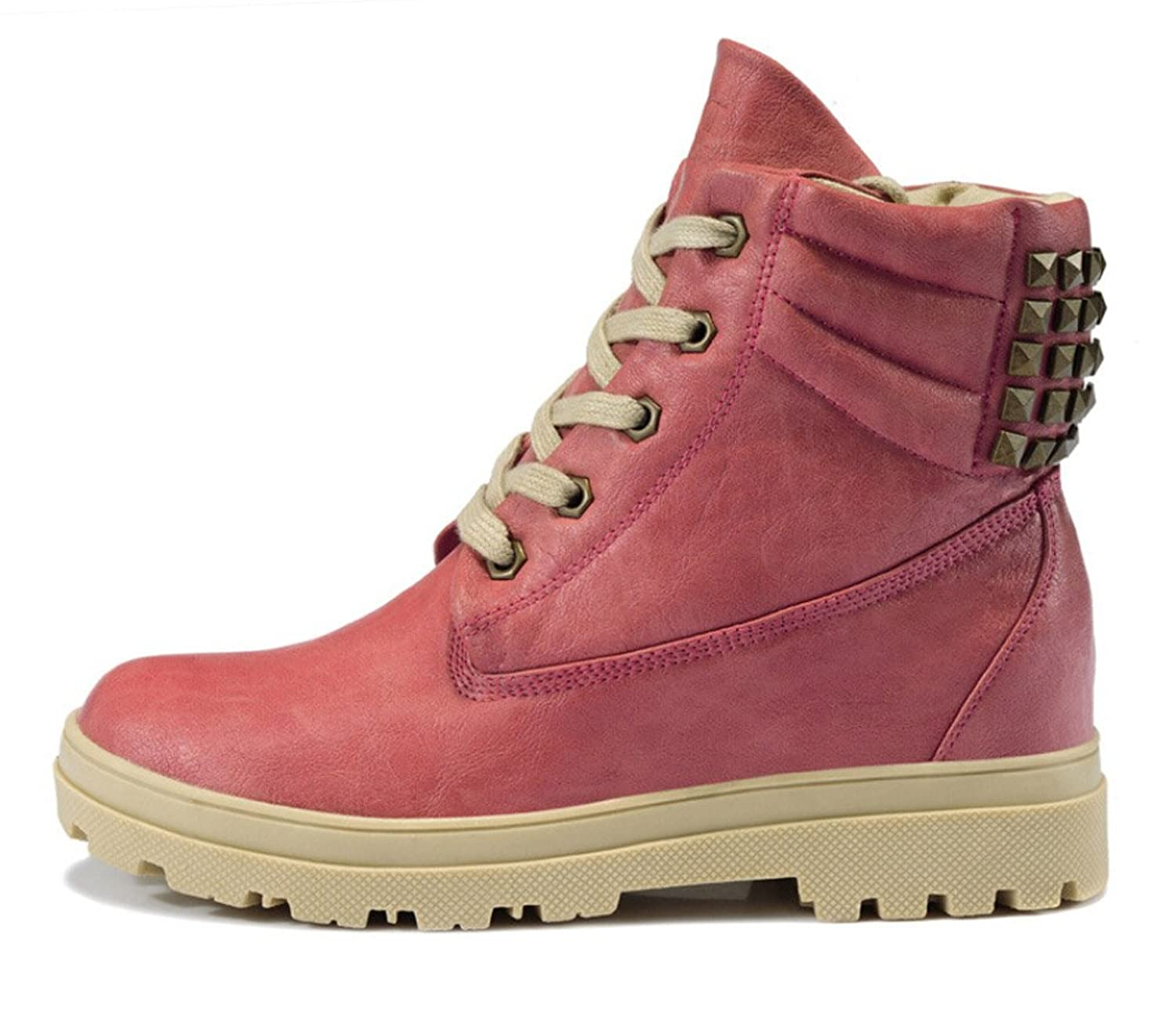 Women 100% Genuine Leather Outdoor Snow Boots