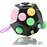 VCOSTORE 12 Sided Fidget Cube, Dodecagon Fidget Toy for Children and Adults, Stress and Anxiety Relief Depression Anti…