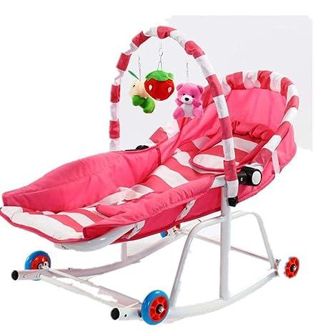 NuoEn Silla mecedora de bebé, baby swing asiento coax dormir ...