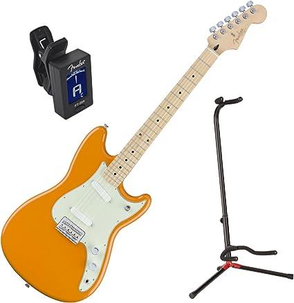 Fender Offset serie Duo Sonic MN Capri Naranja guitarra eléctrica ...