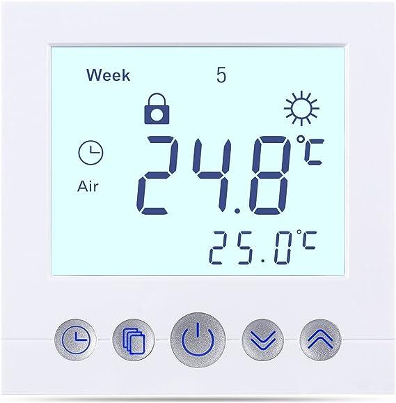 Nicht-programmierbare Thermostate Heimwerker 8X Digitaler LCD ...