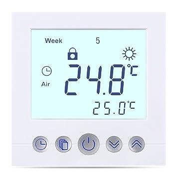 Berühmt FLOUREON Raumthermostat digital Thermostat programmierbar VX44
