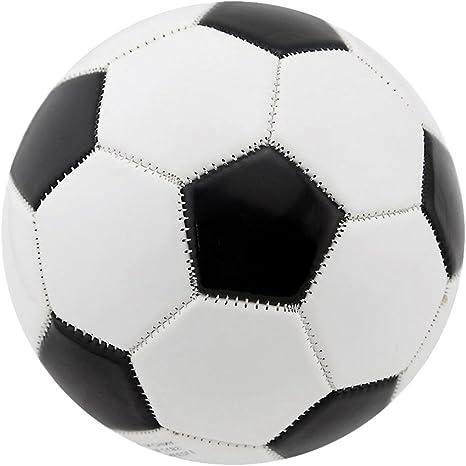 perfeclan Negro Blanco Clásicos Tamaño del Balón De Fútbol 4 ...