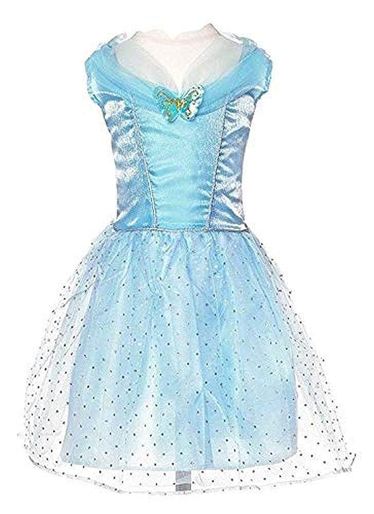 Princess Expressions オフショルダー バタフライドレス コスチューム スモール ブルー   B07MVJW7GL