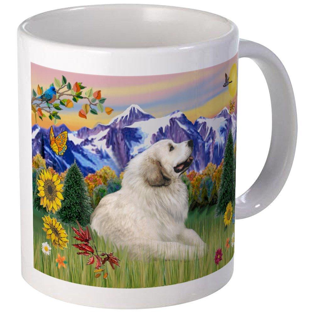 CafePress - Mt Country & Great Pyrenees Mug - Unique Coffee Mug, Coffee Cup