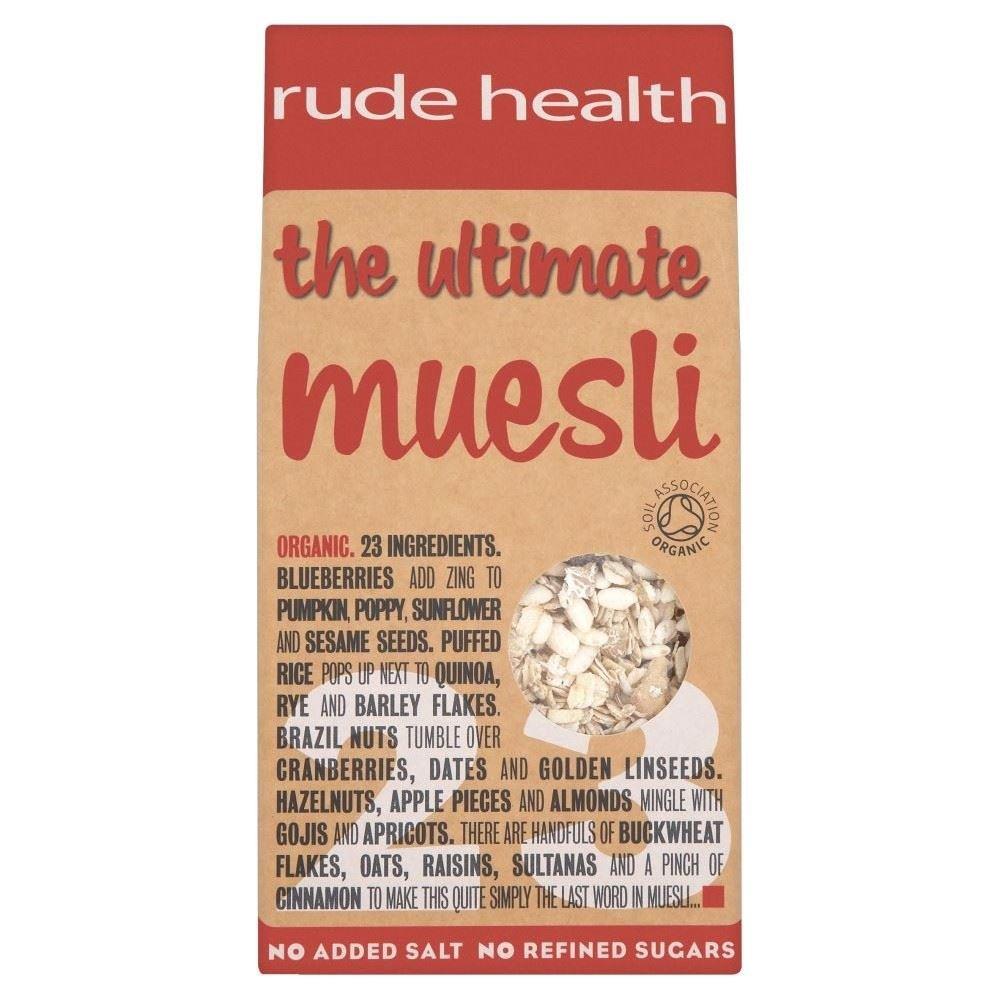 Rude Health the Ultimate Organic Muesli (500g) - Pack of 2