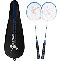 Philonext Badmintonschläger, Badminton Set Carbon Badmintonschläger Federballschläger