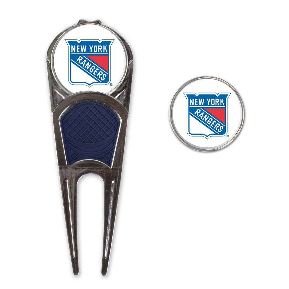 WinCraft NHL New York Rangers A0192411 Golf Mark Tool H Clip Combo