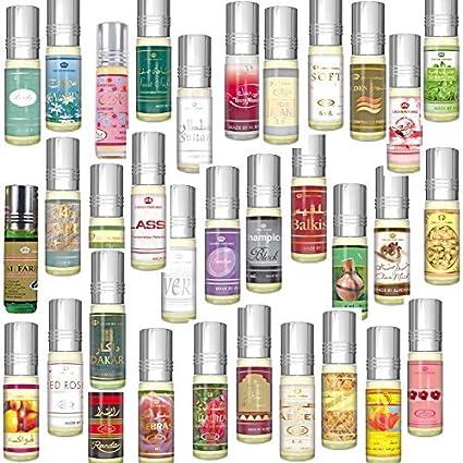 Prime Calidad Óptima Fragancia Unisex Sin alcohol Superventas Perfumes para hombre/Mujer 6 ML Diferentes