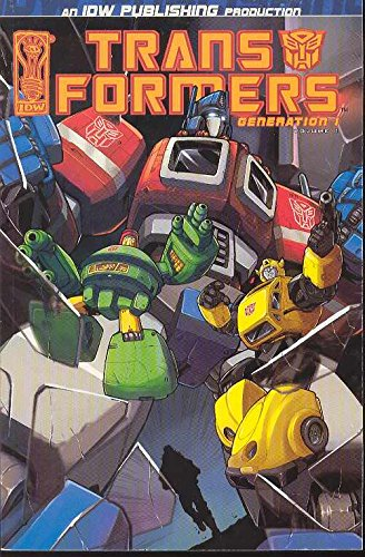 Transformers: Generation One Volume 1 (v. 1), by Chris Sarracini