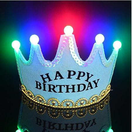 Sombreros de fiesta de cumpleaños de príncipe y princesa ...