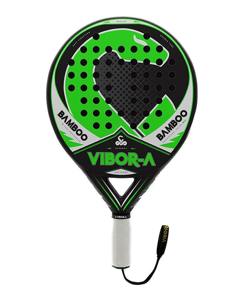 Vibora-a - Racchetta da Paddle, Bamboo, unisex adulto, colore verde, taglia unica Vibor-A Padel 11010BAMB16